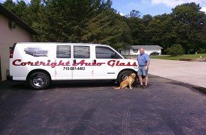 Cortright Auto Glass Work Van Photo